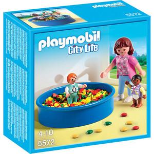Игровой набор Playmobil Детский сад: Игровая площадка с шариками (5572pm)