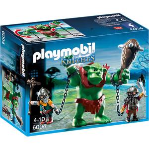Игровой набор Playmobil Рыцари: Гигантский тролль и боевые гномы (6004pm) playmobil игровой набор королева лунного света с жеребенком пегаса