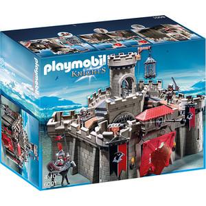 Игровой набор Playmobil Рыцари: Замок Рыцарей Ястреба (6001pm) playmobil игровой набор королева лунного света с жеребенком пегаса