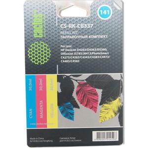 цена на Заправочный набор Cactus CS-RK-CZ102 многоцветный для DeskJet 2515/3515