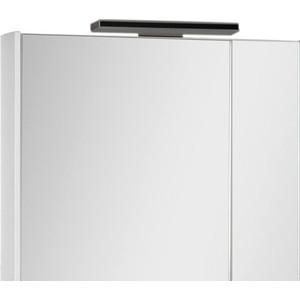 Зеркальный шкаф Aquanet Франка 85 белый (183045) цена