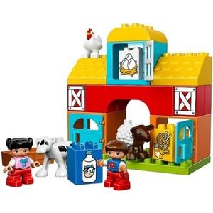 Конструктор Lego Моя первая ферма (10617) lego duplo конструктор моя первая ферма