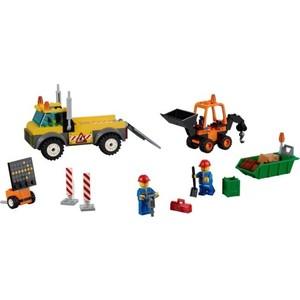 Конструктор Lego Грузовик для дорожных работ (10683)