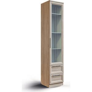Шкаф с ящиками и стеклом СКАНД-МЕБЕЛЬ Шервуд Ш-05 универсальный
