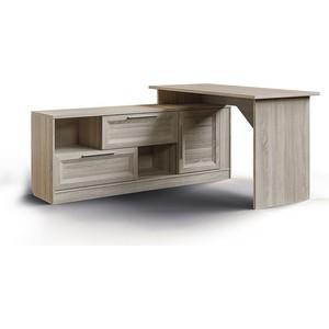 Стол угловой СКАНД-МЕБЕЛЬ Шервуд СШ-03 левый мебель салона маникюрный стол роза 42 цвета