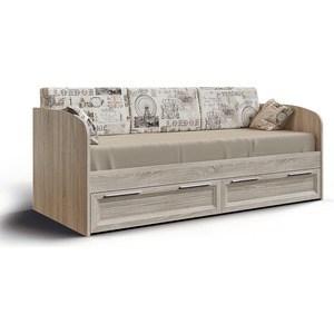 Кровать с ящиками СКАНД-МЕБЕЛЬ Шервуд КШ-01 кровать сканд мебель кембридж 2