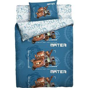 Детское полутороспальное постельное белье Disney Тачки ''Мэтр'' с наволочкой 50х70 (168828)