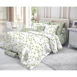 Комплект постельного белья Verossa Перкаль 1,5 сп, сатин люкс, Botanic с наволочками 70x70 (191952)