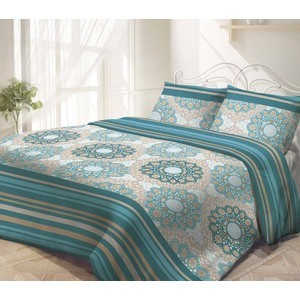 Комплект постельного белья Гармония 1,5 сп, поплин, Восток Западс наволочками 70x70 (187385)