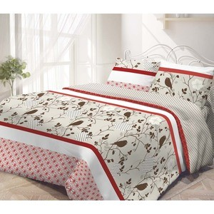 Комплект постельного белья Гармония 2-х сп, поплин, Летний сад с наволочками 50x70 (190836)