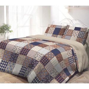 Комплект постельного белья Гармония 2-х сп, поплин, Пэчворк с наволочками 50x70 (193254)