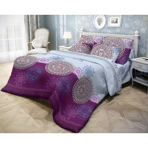 Комплект постельного белья 2-х сп Волшебная ночь Северная сказка с наволочками 70x70 (183746)