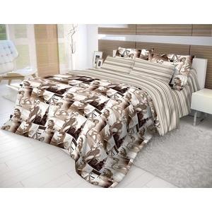 Комплект постельного белья Волшебная ночь 1,5 сп, ранфорс, Голливуд с наволочками 70x70 (183770)