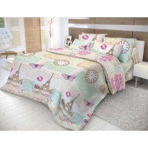 Комплект постельного белья Евро Волшебная ночь Париж с наволочками 50x70 (183827)