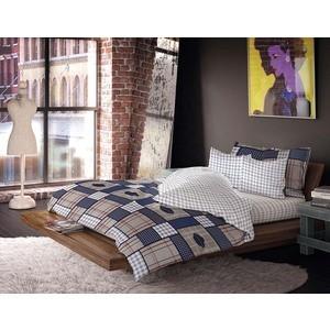 Двуспальный комплект постельного белья Волшебная ночь Поло Клаб с наволочками 50x70 (190807) поло print bar чёрная ночь