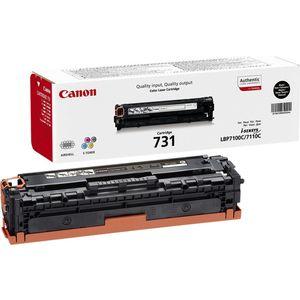 Картридж Canon 731BK (6272B002) картридж для принтера canon 731 cyan