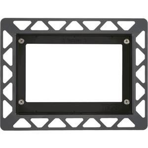 Монтажная рамка для стеклянных панелей TECE TECEnow (9240647) чёрный