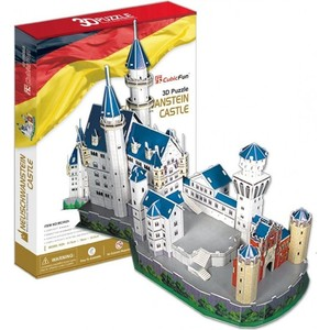 Пазл CubicFun Замок Нойшванштайн (Германия) (MC062h)