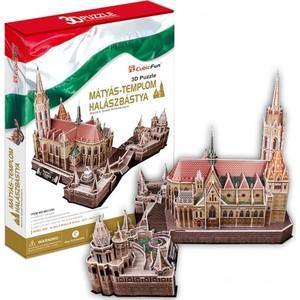 Пазл CubicFun Церковь Святого Матьяша (Венгрия) (MC128h)
