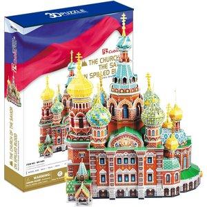 Пазл CubicFun Собор Воскресения Христова (Россия) (MC148h)