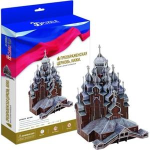 Пазл CubicFun Преображенская церковь Кижи Россия (MC169h) cubicfun 3d пазл рождественская церковь россия