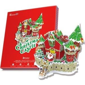 Пазл CubicFun Сказочный рождественский замок ( с подсветкой ) (P646h)