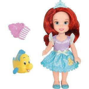 Кукла Disney Princess Малышка с питомцем 15 см Ариэль (754940) от ТЕХПОРТ