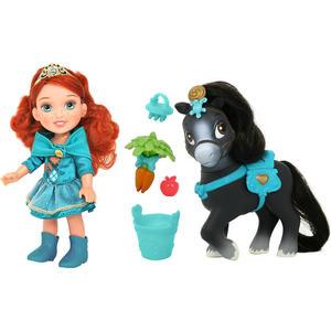Кукла Disney Princess Малышка 15 см с конем (755060) disney кукла малышка с питомцем ариэль 15 см disney princess