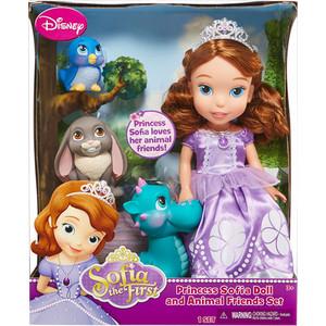 Игровой набор Disney Princess София 37 см с 3 питомцами (931010)