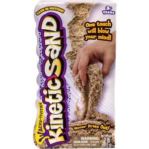 Кинетический песок Kinetic sand коричневый 910 гр. (71400)