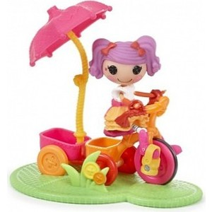 Кукла Lalaloopsy Mini Веселый спорт велосипед (530411)