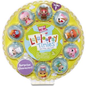 Набор кукол Lalaloopsy Малютки желтая 10 шт (530435)