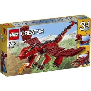 Конструктор Lego Огнедышащий дракон (31032)