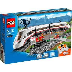 Конструктор Lego Скоростной пассажирский поезд (60051)