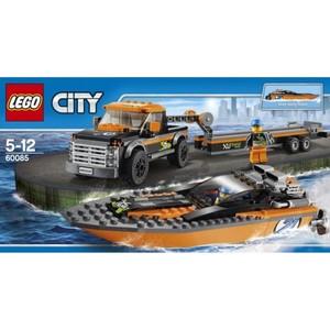 Конструктор Lego Внедорожник 4x4 с гоночным катером (60085)