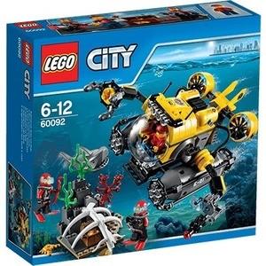 Конструктор Lego Глубоководная подводная лодка (60092)