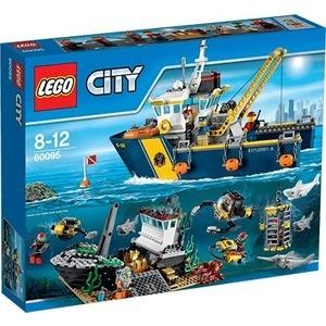 Конструктор Lego Корабль исследователей морских глубин (60095)