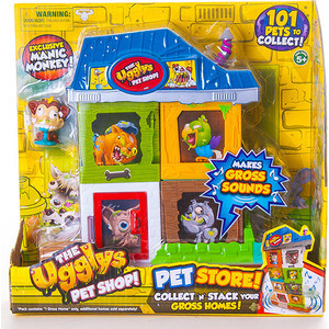 Игровой набор Littlest Pet Shop Зоомагазин (2 домика+фигурка) (19414) mool usb 2 0 50 0m hd webcam camera web cam with miniphone mic for computer pc laptop black
