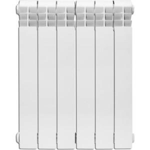 Радиатор отопления KANZLER биметаллический Logis 500 6 секций радиатор биметаллический oasis 6 секций 500 100