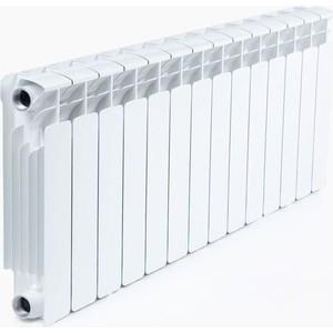 Радиатор отопления RIFAR Base 350 14 секций радиатор отопления алюминиевый halsen 350 80 12