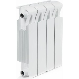 Радиатор отопления RIFAR Monolit 350 4 секции радиатор отопления алюминиевый halsen 350 80 12