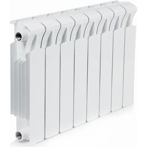 Радиатор отопления RIFAR Monolit 350 8 секций радиатор отопления алюминиевый halsen 350 80 12