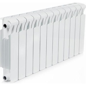 Радиатор отопления RIFAR Monolit 350 12 секций радиатор отопления алюминиевый halsen 350 80 12