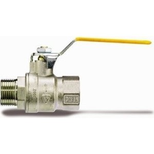 Кран IVR шаровый для газа 1 101 ВР/НР стальная ручка