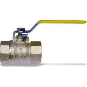 Кран IVR шаровый для газа 1 151 ВР стальная ручка