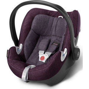 Автокресло Cybex Aton Q Plus Grape Juice (515104155) автокресло cybex aton q plus stopm cloud