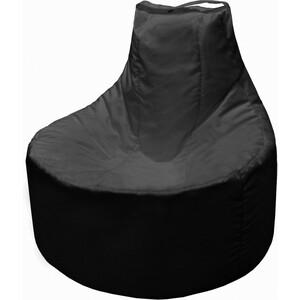 Кресло мешок Пазитифчик Бмо12 черный