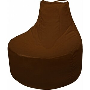 Кресло мешок Пазитифчик Бмо12 коричневый