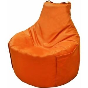 Кресло мешок Пазитифчик БМЭ12 оранжевый