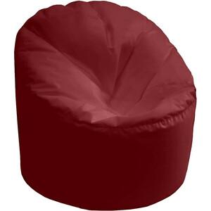 Кресло мешок Пазитифчик Бмо14 бордовый мягкие кресла пазитифчик мешок мяч экокожа 90х90